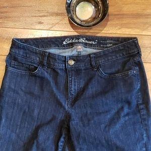 Eddie Bauer Curvy Crop Jeans Size 10